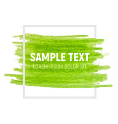 Green paint textured art vector
