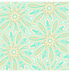 Green summer geometric pattern vector