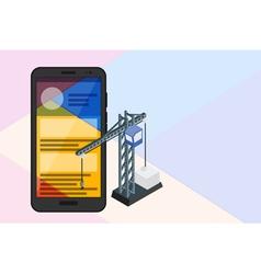 Mobile concept vector