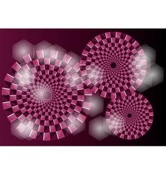 Purple optical vector