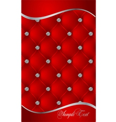 red luxury background vector image