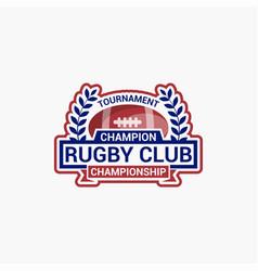 Rugclub badges logo-10 vector