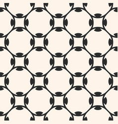 seamless pattern in arabian style geometric vector image