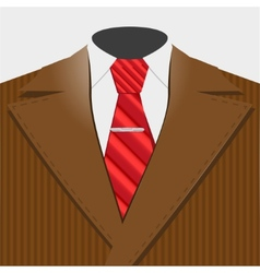 Smart suit vector image