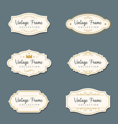 vintage icon design vector image