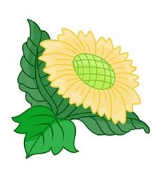 yellow Flower vector image