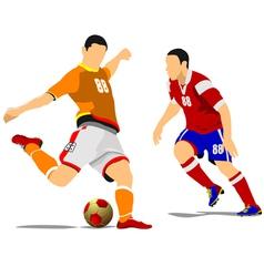 al 1041 soccer 04 vector image vector image