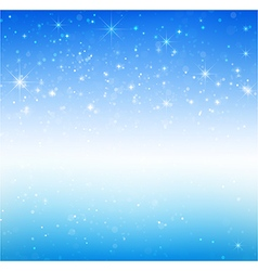 Star night and snow fall bakcground 005 vector