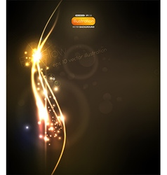 Fire flow background vector