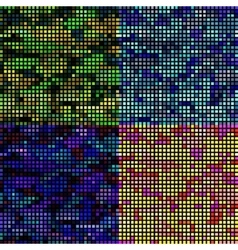 A set of textures for a pattern or background vector image
