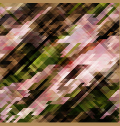 Abstract pixel background from triangles vector