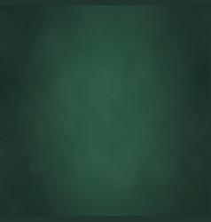 blackboard color green vector image
