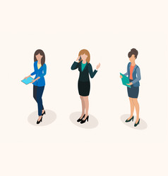 business women office staff vector image vector image