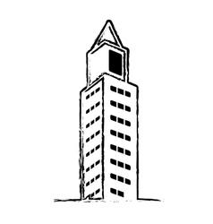 City buildings icon vector