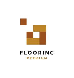 Flooring logo design symbol vector