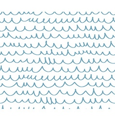Geometric wave seamless pattern background Great vector
