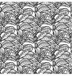 Graphic sesame pattern vector