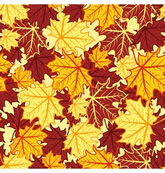 leaves seamless 2 vector image