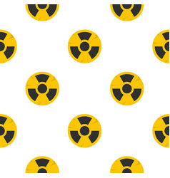 nuclear sign pattern seamless vector image