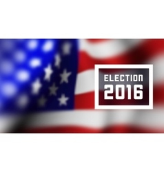 Presidentioal elecction in USA vector image