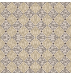 Vintage pattern in sepia color vector image