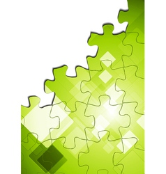 Hi-tech abstract background vector image vector image