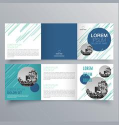 brochure design 948 vector image