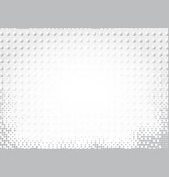Light halftone futuristic dot background vector