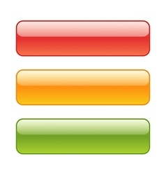 set red green and yellow web background vector image