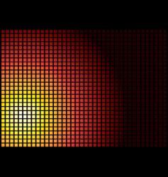 sun square vector image