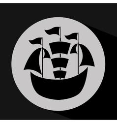 Transportation silhouette design vector
