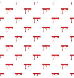 flowing drop of blood pattern vector image
