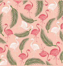 summer background with birds vector image