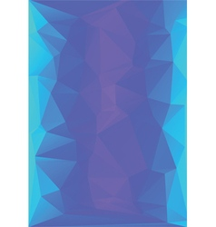 abstract low poly letterhead vector image
