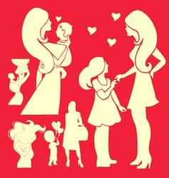 Happy Mother 2 vector image