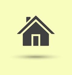 Home icon isolated vector