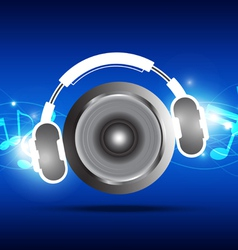 music concept design vector image