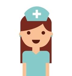 nurse isolated icon design vector image