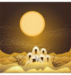 Sandstorm vector image