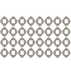 Template pattern motif vector