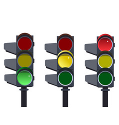 traffic light traffic light sequence vector image