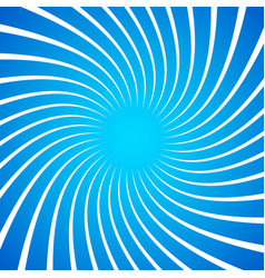 twisted white radial radiating lines over bright vector image