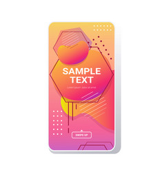 web template dynamical colorful gradient abstract vector image