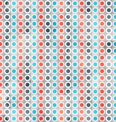 abstract circle lines seamless pattern vector image vector image
