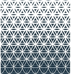 Gradient geometric seamless pattern vector image vector image