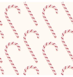 candy cane pattern vector image vector image