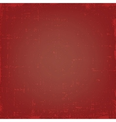 Vintage red grunge texture or background vector image vector image