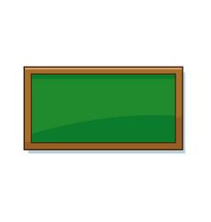 empty green school chalkboard background texture vector image vector image