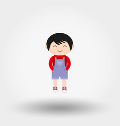 baby boy icon flat vector image