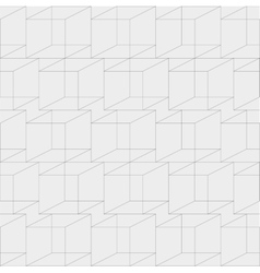 cubic geometric seamless texture vector image
